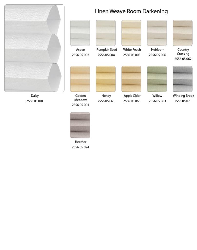 Linen Weave Room Darkening